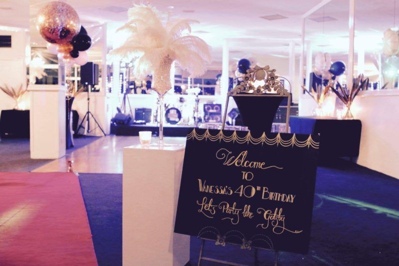 Great Gatsby Christmas Party Theme